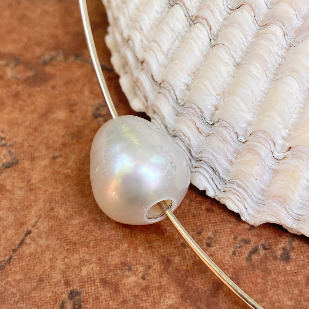 Paspaley South Sea Pearl Loose Drilled Pearl Fine Quality/ 12mm, Paspaley South Sea Pearl Loose Drilled Pearl Fine Quality/ 12mm - Legacy Saint Jewelry