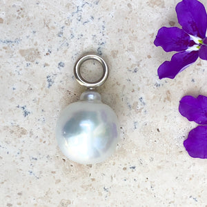 14KT White Gold Paspaley South Sea Pearl Pendant 16mm, 14KT White Gold Paspaley South Sea Pearl Pendant 16mm - Legacy Saint Jewelry