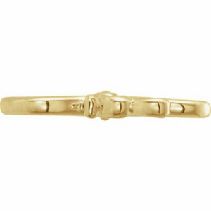14KT Yellow Gold Stylized S-Hook Extender Clasp, 14KT Yellow Gold Stylized S-Hook Extender Clasp - Legacy Saint Jewelry