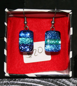 Medium Earrings Ocean