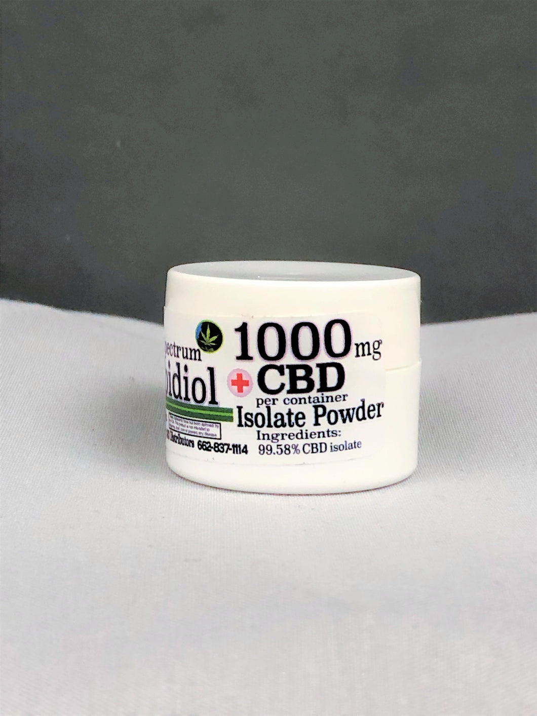 CBD Isolate Powder 1000mg