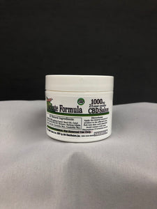 1000MG CBD Salve Jar