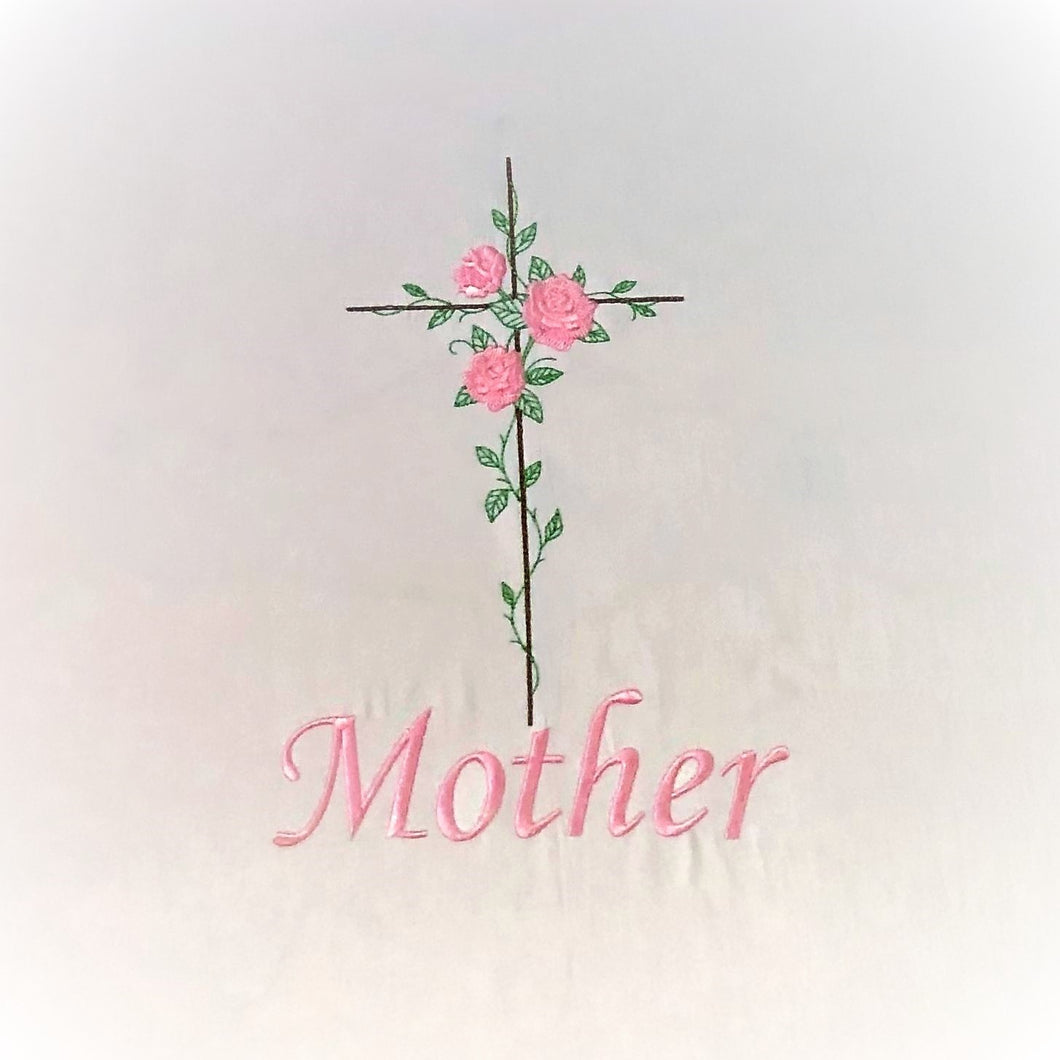 Mother Pink with Cross