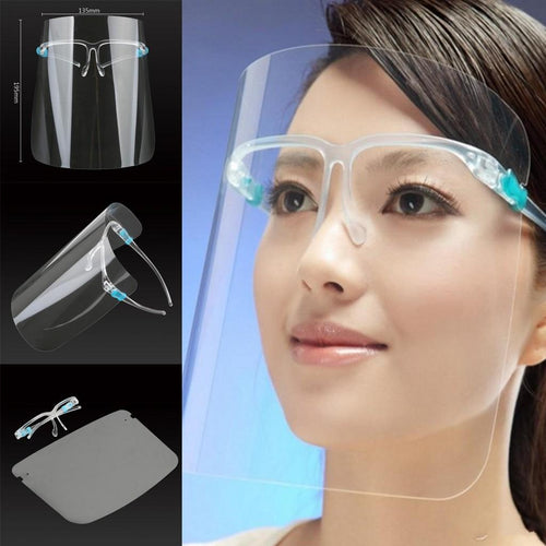 Face Shield with Glass Holder ~ In Stock Ready to Ship