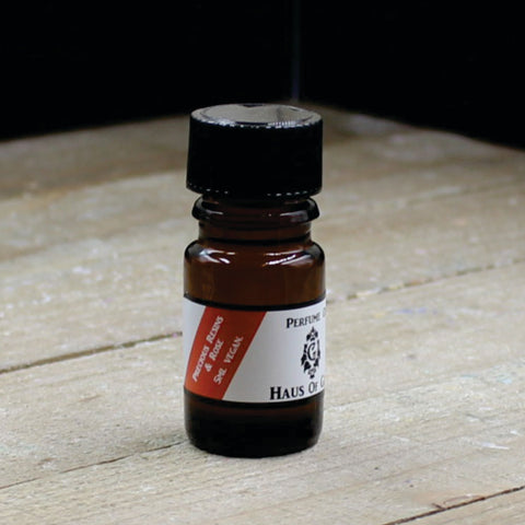 Precious Resins and Rose Vegan Perfume Oil 5ml Bottle