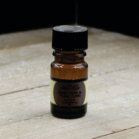 Black Musk & Ylang Ylang Vegan Perfume Oil 5ml Bottle