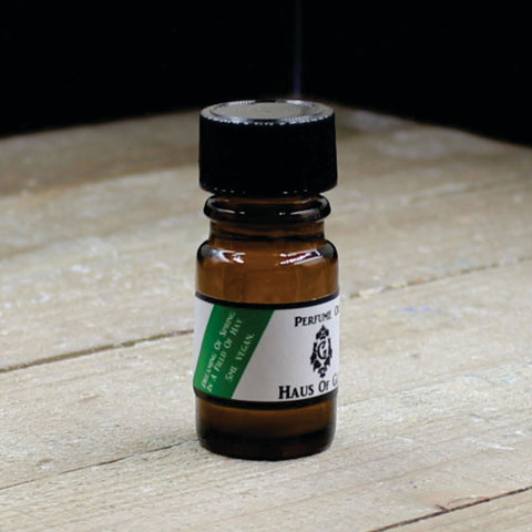 Dreaming of Spring in a Field of Hay Vegan Perfume Oil 5ml Bottle