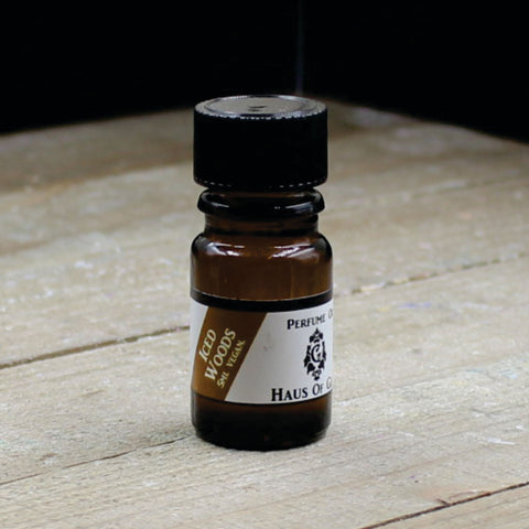 Iced Woods Vegan Perfume Oil 5ml Bottle