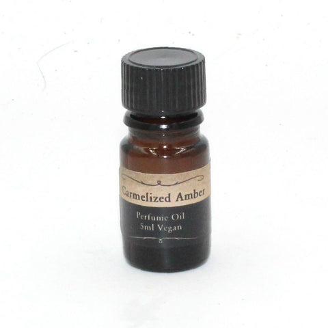 Caramelized Amber Perfume Oil