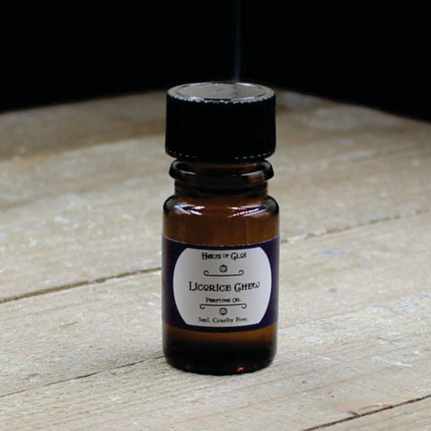 Licorice Chew Vegan Perfume Oil 5ml Bottle