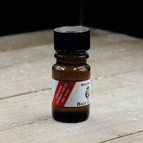 Cinnamon Vanilla Cocoa Vegan Perfume Oil 5ml Bottle