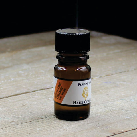 Sparkling Orange Vegan Perfume Oil 5ml Bottle
