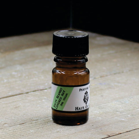 Salty Sea Mist Covered Hay Vegan Perfume Oil 5ml Bottle