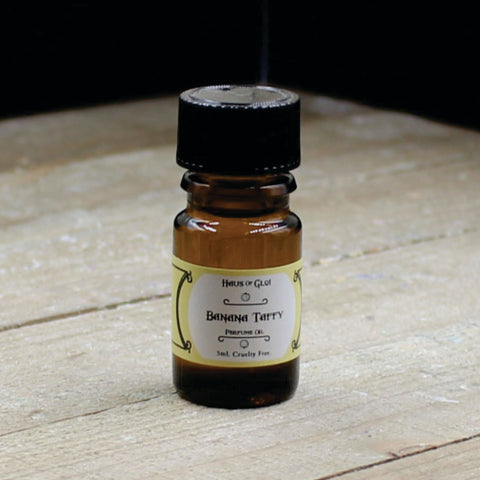 Banana Taffy Vegan Perfume Oil 5ml Bottle