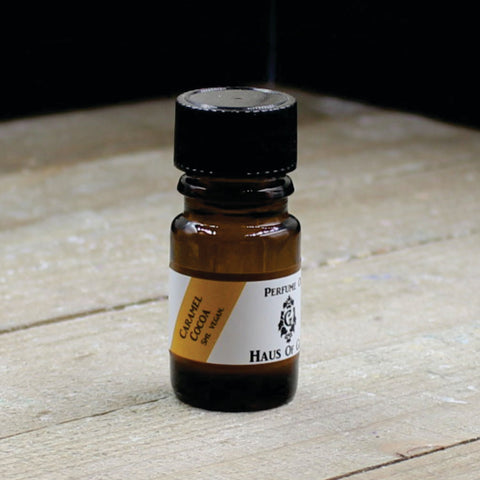 Caramel Cocoa Vegan Perfume Oil 5ml Bottle