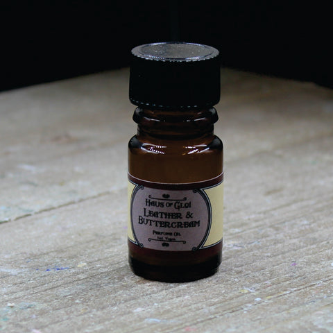 Leather & Buttercream Perfume Oil