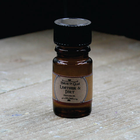 Leather & Dirt Perfume Oil