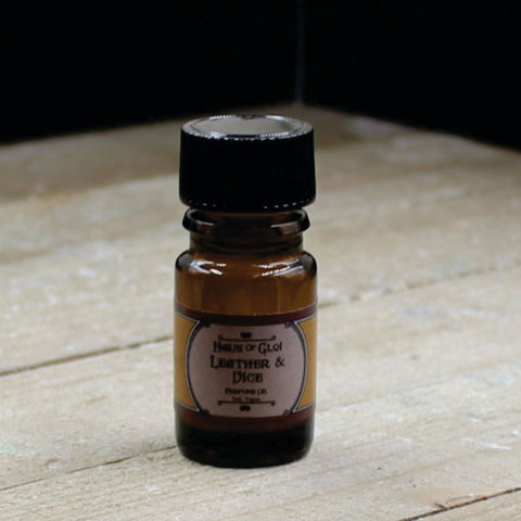 Leather and Vice Vegan Perfume Oil 5ml Bottle