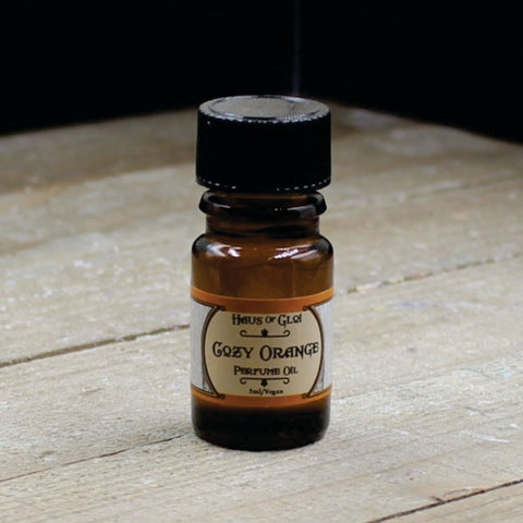 Cozy Orange Vegan Perfume Oil 5ml Bottle