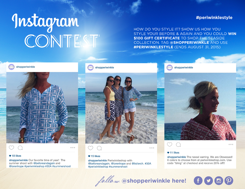 7c21907aeccb ... your before and again by posting a picture on Instagram! You could win  a  100 gift certificate to Periwinkle. Make sure you tag  shopperiwinkle  and use ...