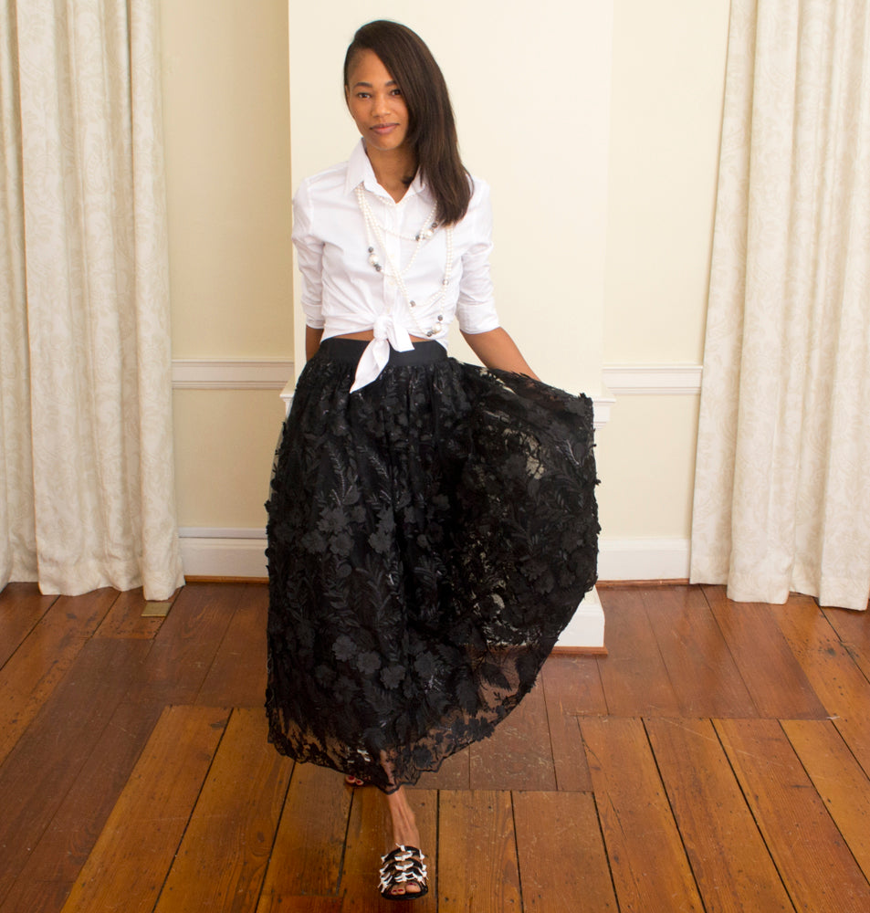 edward achour ultimate party skirt