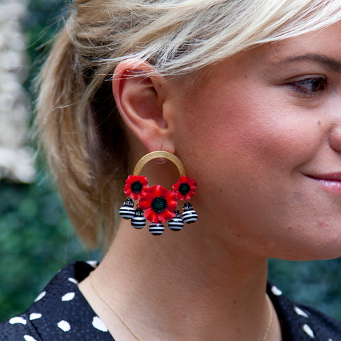 Elizabeth Cole Single Star Earring
