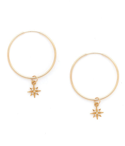 Elizabeth Cole Layla Star Drop Earring