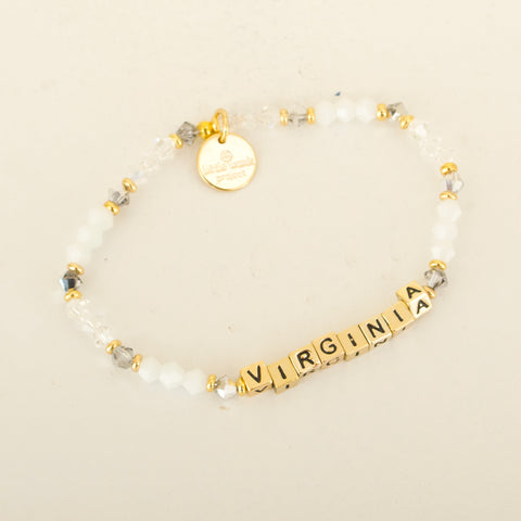 Mini Tag Letter Necklaces