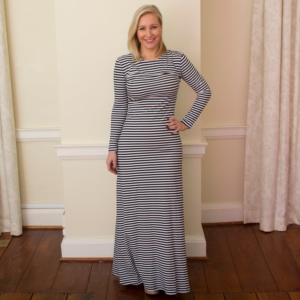 mds stripe erika dress
