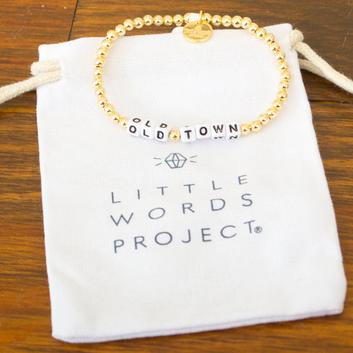 Little Words Project CUSTOM Gold Filled Beaded - Old Town