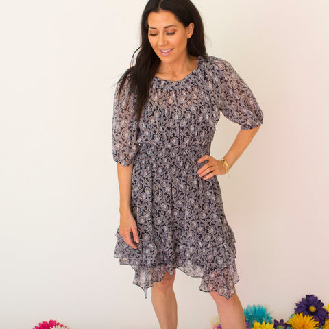 Confetti Ruffle Dress