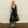 tracy reese tulle overlay dress