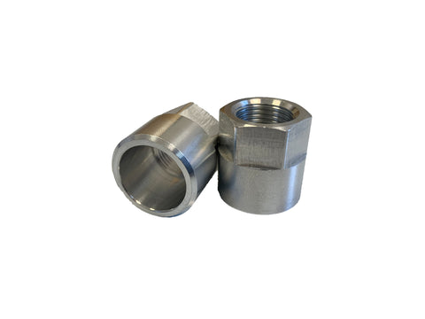 "LP12425 3/8"" NPT Aluminum Weld On Fitting"