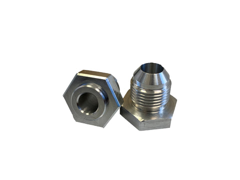 LP12414 -8AN Male Aluminum Weld On Fitting