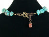 Single strand turquoise necklace  (Web-220)