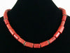 Single strand sponge coral necklace (Web-221)