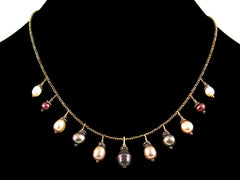 Single strand multi pearl choker (Web-257)
