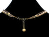 3-Strand Crystal Choker with Charms & Leather (Web-35)