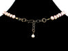 Y-Drop Mauve Pearl Choker Necklace (Web-50)