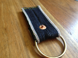 Raw Selvedge Denim Keychain