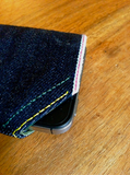 Raw Selvedge Denim iPhone Sleeve