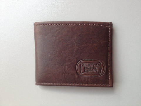 Bison Leather 2 Fold Wallet