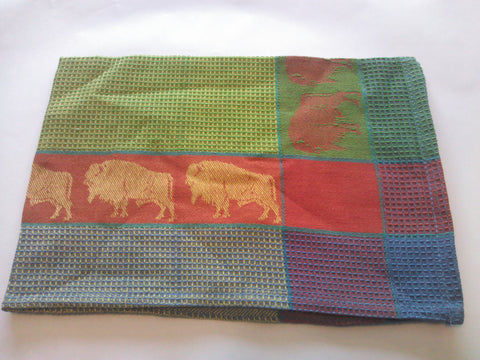 Set of 2 Bison Dishtowels