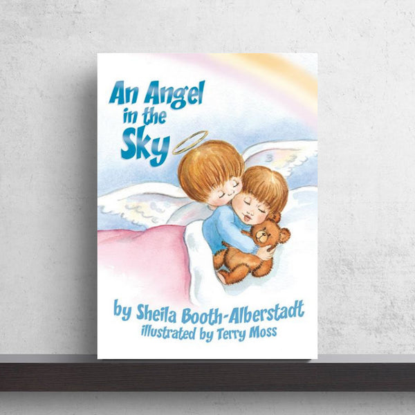 An Angel In The Sky - Hardcover Book