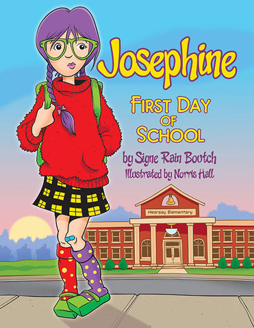 Josephine First Day of School