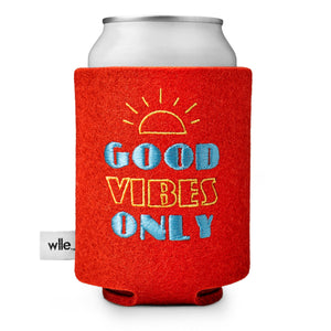 wlle™ Drink Sweater - Good Vibes Only - Orange
