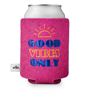 wlle™ Drink Sweater - Good Vibes Only - Rose