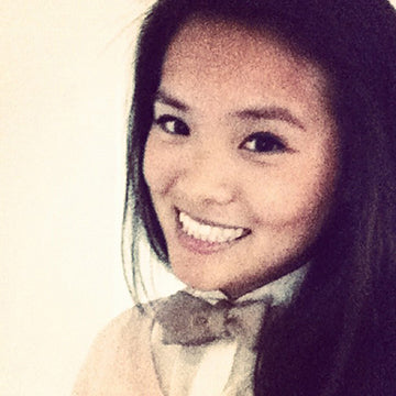 Terracotta New York Co-Founder Ms. Alina Cheung wearing the Sammie Women's Bowtie; female entrepreneur in Fashion.