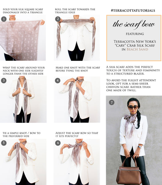 How to Tutorials on Scarf Bow