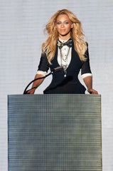 beyonce in menswear inspired assemble